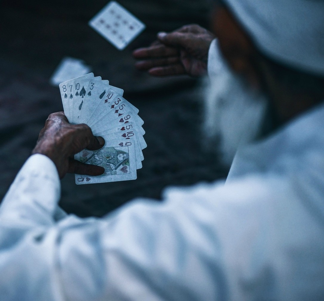 Guy with cards cropped