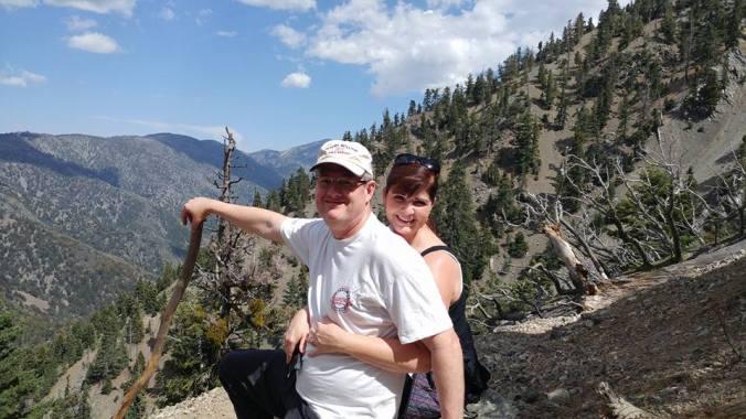 Scott and Me Mountain hike