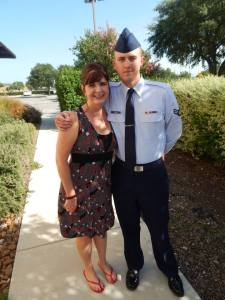 Kevin and me at his graduation from basic training in Texas. beckielindsey16.com