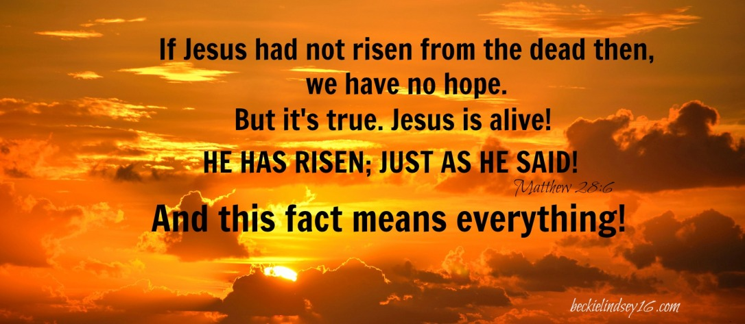 DO YOU KNOW JESUS? https://beckielindsey16.com/2017/04/16/do-you-know-jesus/