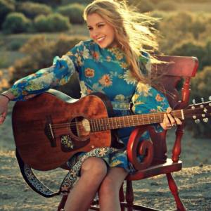 Brennley Brown and guitar