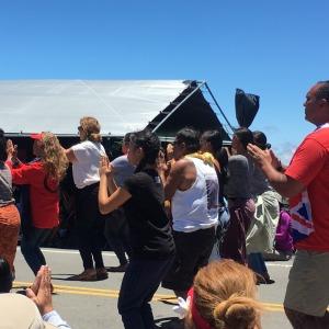 Protest Hawaiian dancers resizeIMG_5353