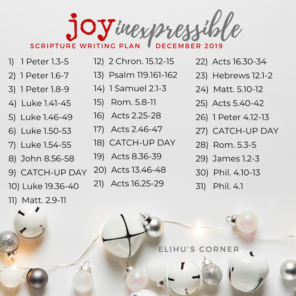 Elihu's Joy graphic
